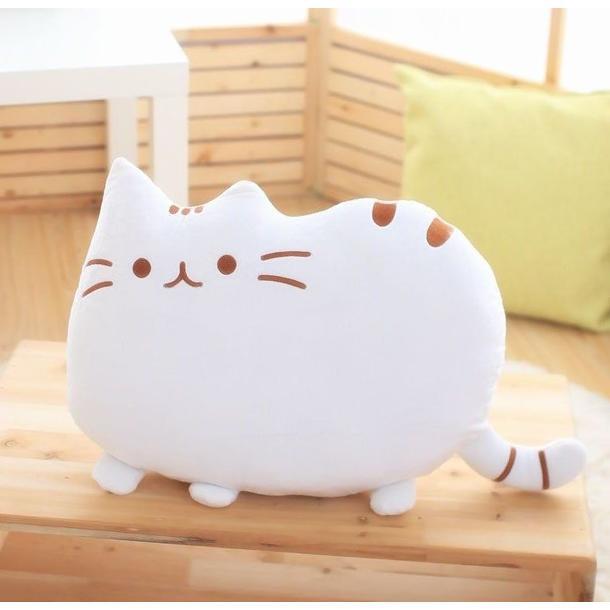 Plyšová kočka PUSHEEN - bílá