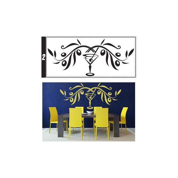 Samolepky na zeď ORNAMENTY color - vzor 2