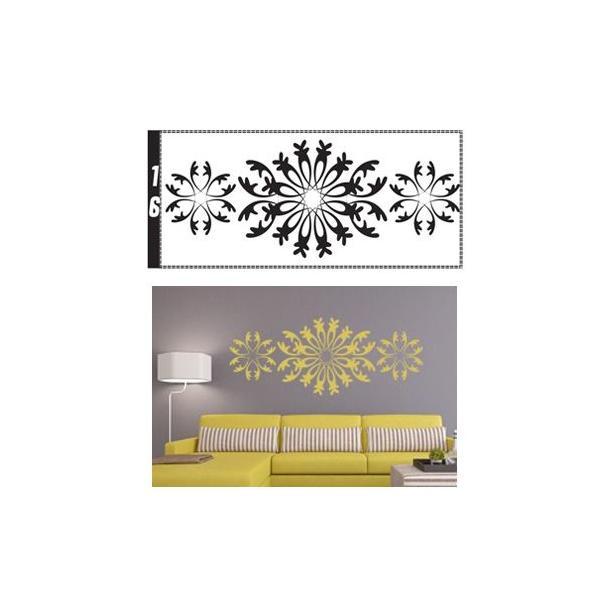 Samolepky na zeď ORNAMENTY color - vzor 16