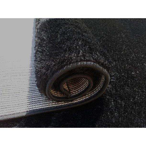 Kusový koberec SHAGGY NEVADA - černý