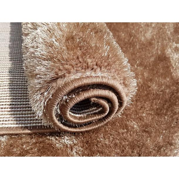 Kusový koberec SHAGGY TOP - cappuccino