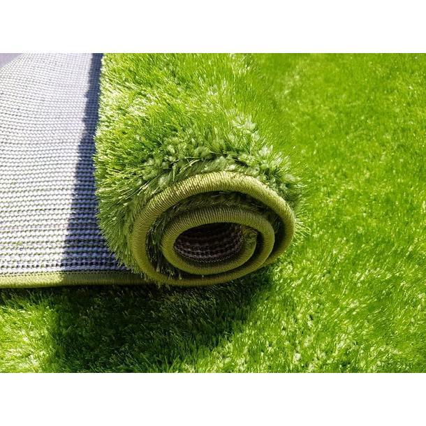 Kusový koberec SHAGGY NEVADA - zelený