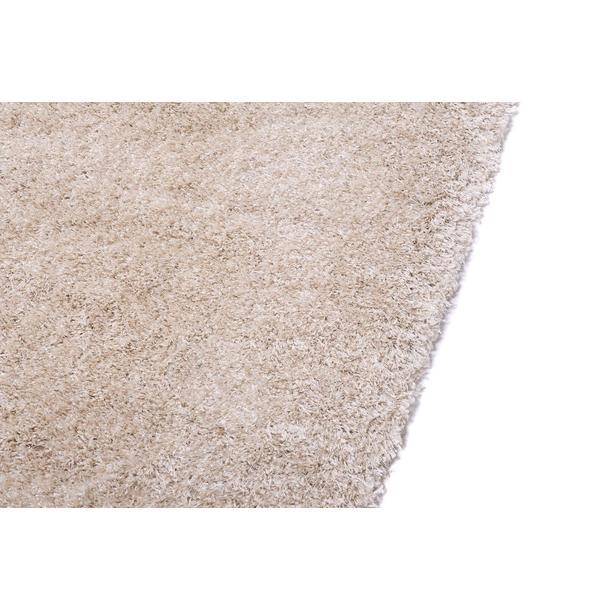 Kusový koberec SHAGGY TOP - světle béžový