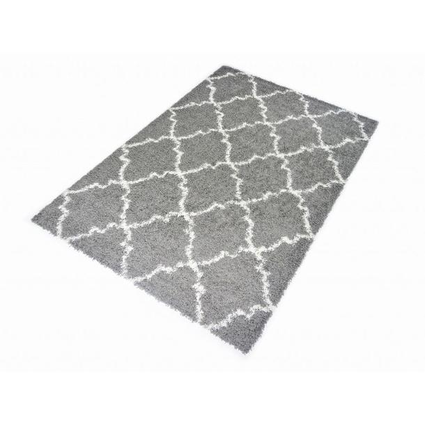 Kusový koberec SHAGGY TOP - 462 - šedý
