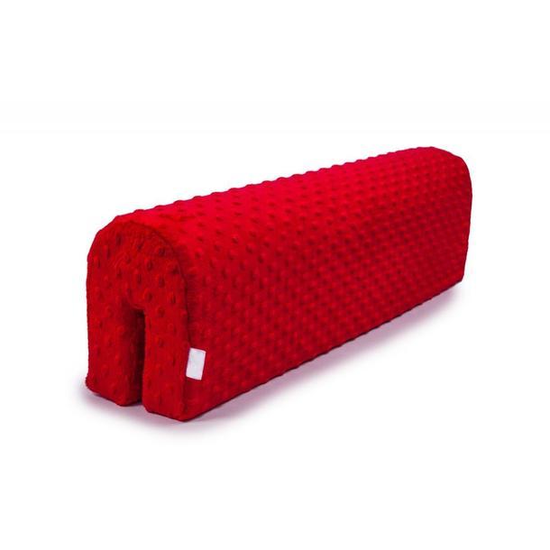 Chránič na dětskou postel MINKY - červený