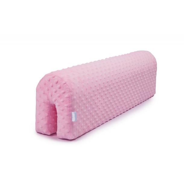 Chránič na dětskou postel MINKY - růžový