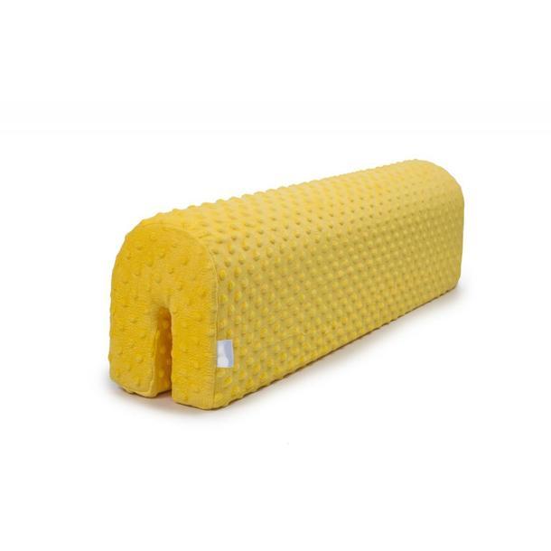 Chránič na dětskou postel MINKY - žlutý