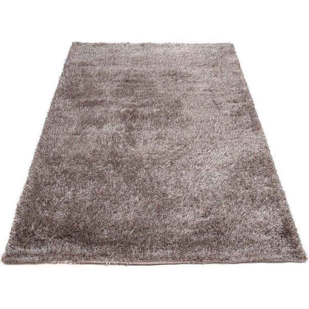 Kusový koberec SHAGGY TOP - tmavě béžový