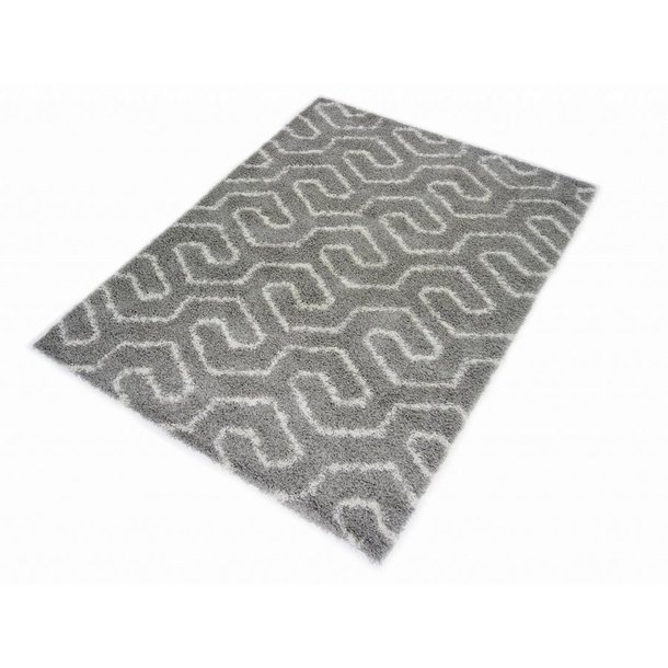 Kusový koberec SHAGGY TOP - 463 - šedý
