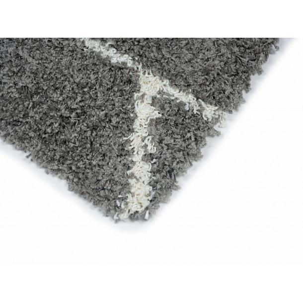 Kusový koberec SHAGGY TOP - 461 - šedý