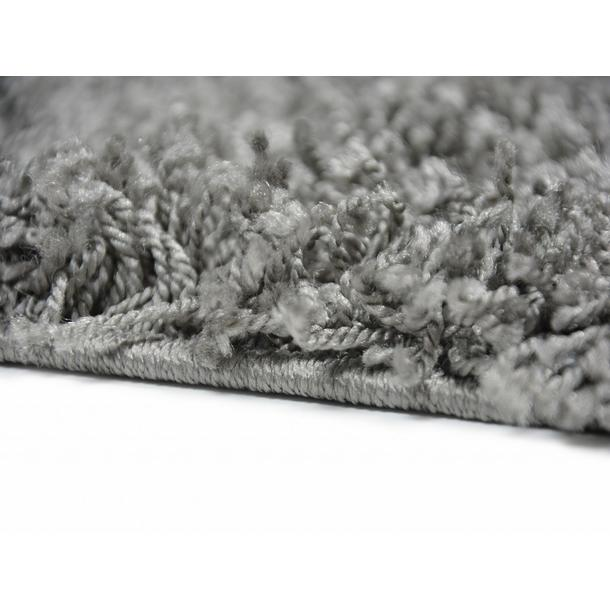 Kusový koberec SHAGGY TOP - 470 - šedý