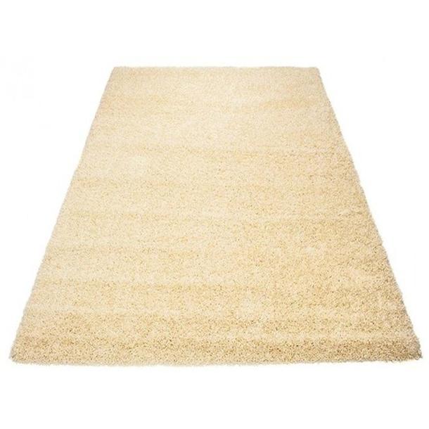 Kusový koberec SHAGGY TOP - vanilkový