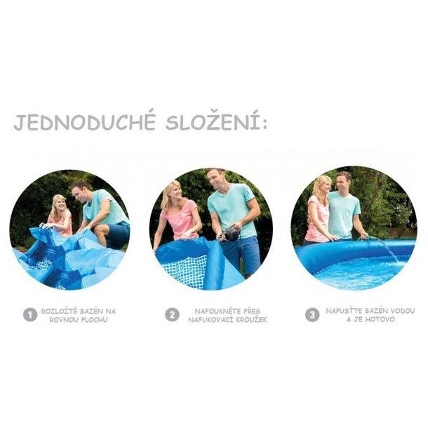 Nadzemní zahradní bazén MAX BLUE
