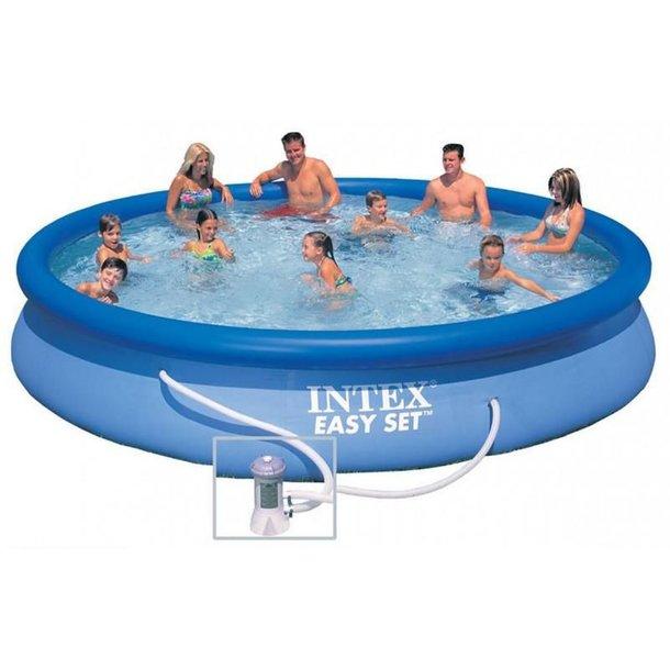 Zahradní kulatý bazén MAX FAMILY 457x84 cm - SET