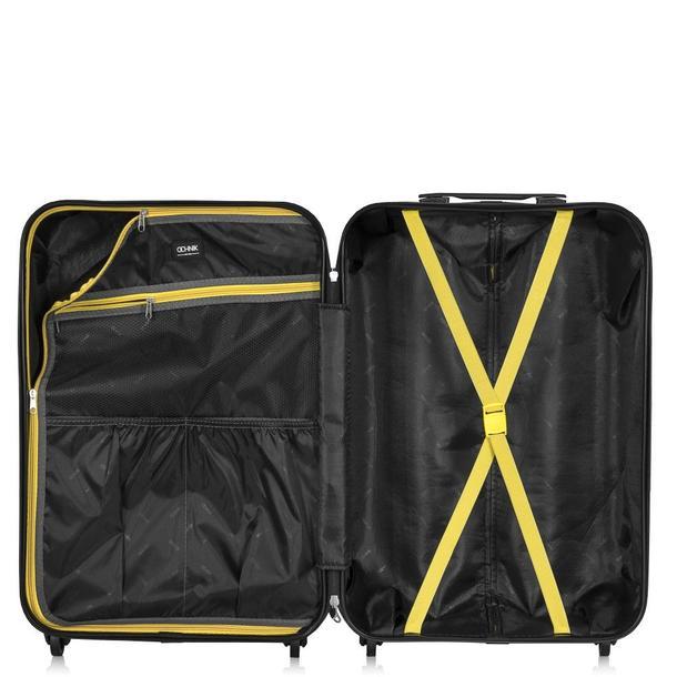 Cestovní kufry SUPERSTAR - žluté