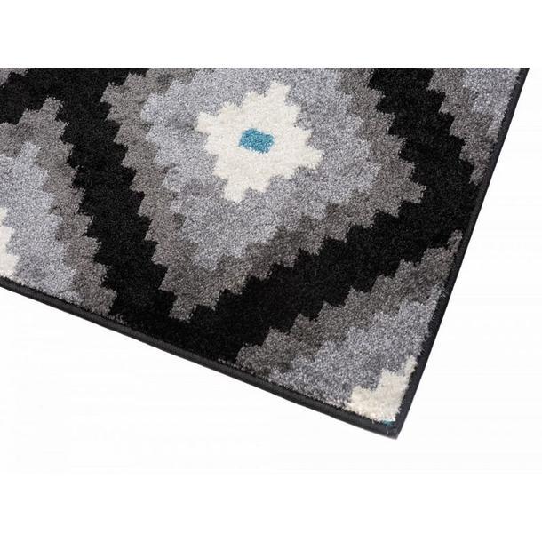 Kusový koberec Maroko - 885 - černý