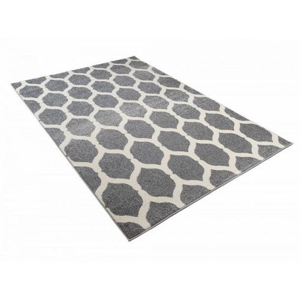 Kusový koberec Maroko - 893 - šedý