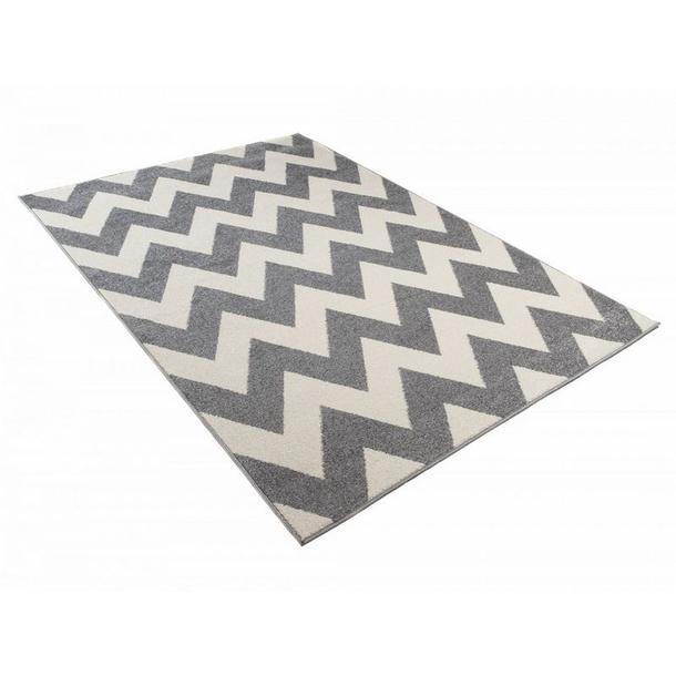 Kusový koberec Maroko - 891 - šedý