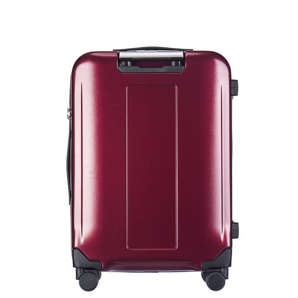 Moderní cestovní kufry VANCOUVER - vínově-červené
