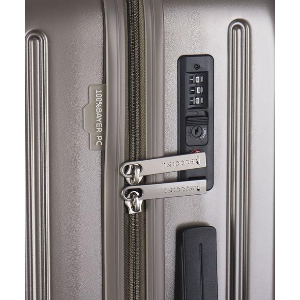 Moderní cestovní kufry VANCOUVER - zlaté