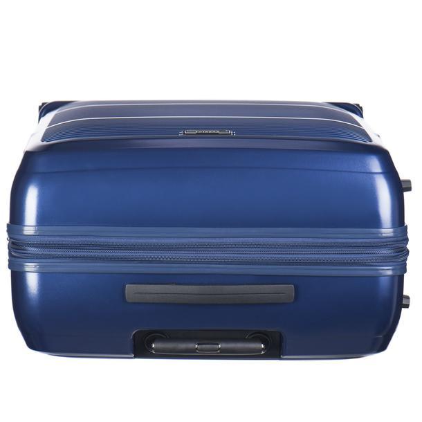 Moderní cestovní kufry VIENNA - modré