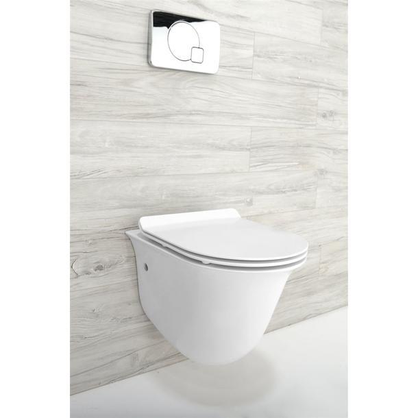 Závěsné WC LUCIO RIMLESS