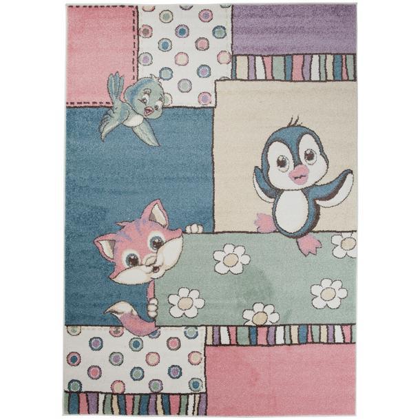 Dětský koberec Happy - VESELÁ ZVÍŘÁTKA