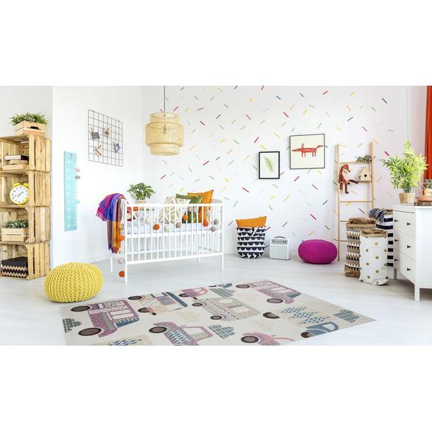 Dětský koberec Happy - AUTA