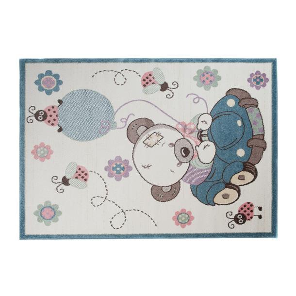 Dětský koberec Happy - MEDVÍDEK V AUTĚ