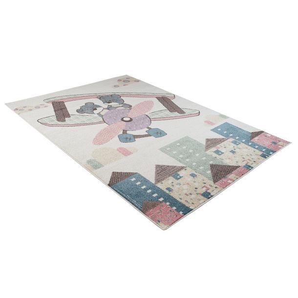 Dětský koberec Happy - MEDVÍDCI V LETADLE