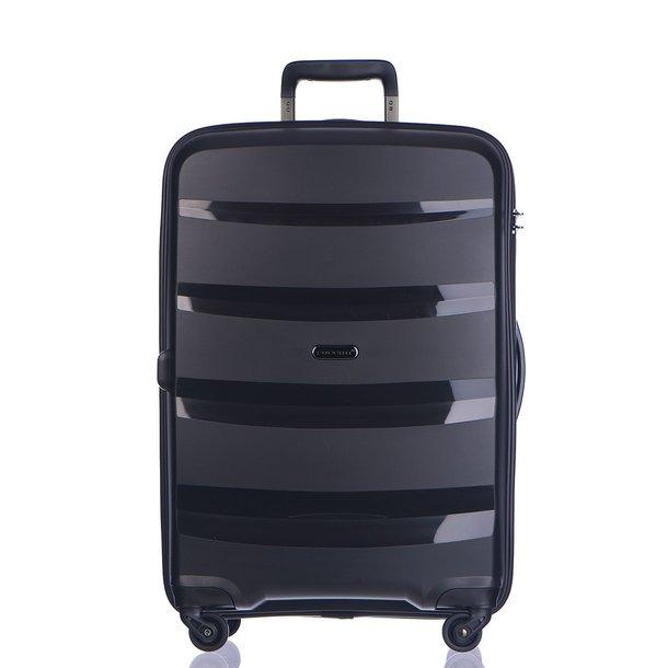 Moderní cestovní kufry ACAPULCO - černé
