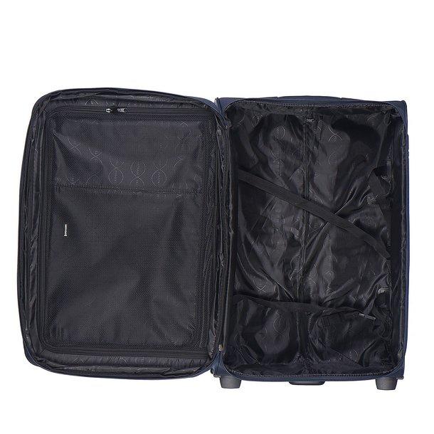 Moderní cestovní kufry CAMERINO - modré