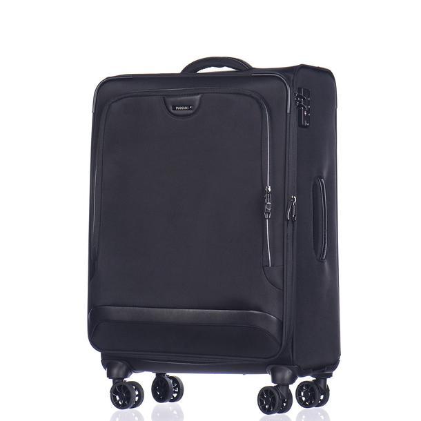 Moderní cestovní kufry COPENHAGEN - černé