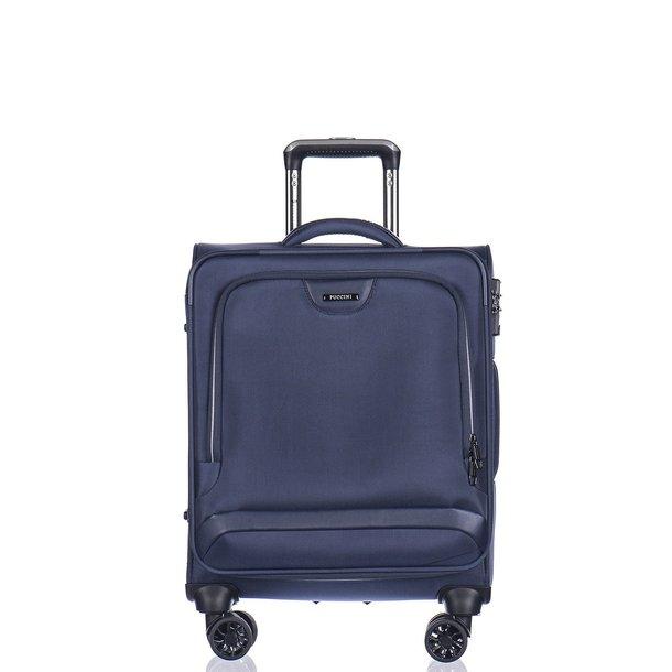 Moderní cestovní kufry COPENHAGEN - modré