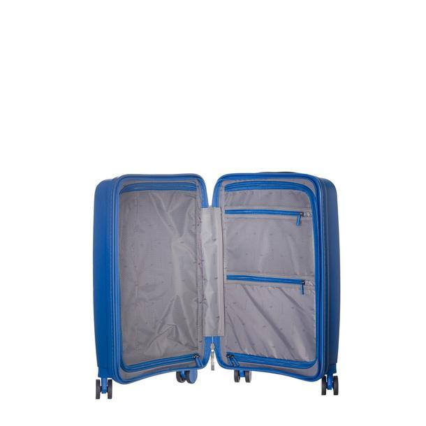 Moderní cestovní kufry DENVER - světle modré
