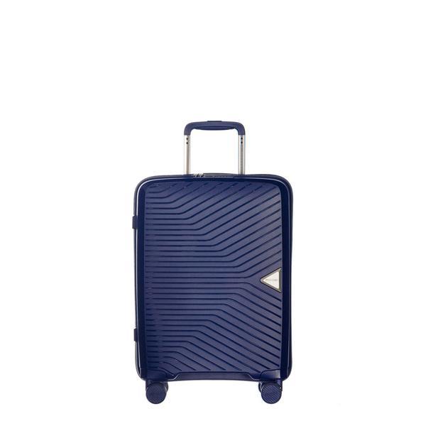 Moderní cestovní kufry DENVER - tmavě modré