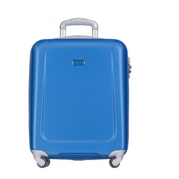 Moderní cestovní kufry IBIZA - světle modré