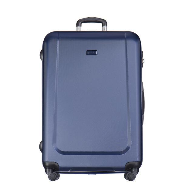 Moderní cestovní kufry IBIZA - tmavě modré