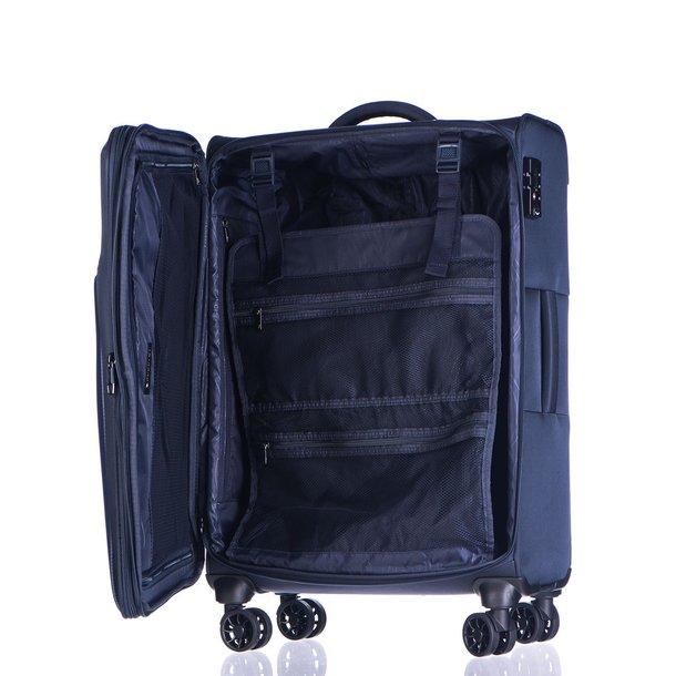 Moderní cestovní kufry BERLIN - modré