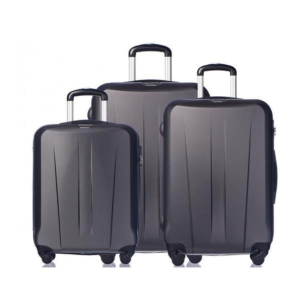 Moderní cestovní kufry PARIS - antracit