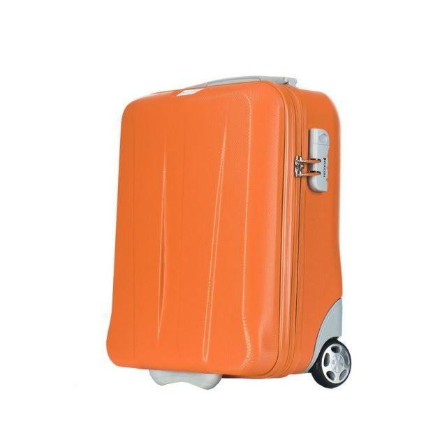 Moderní cestovní kufry PARIS - oranžové