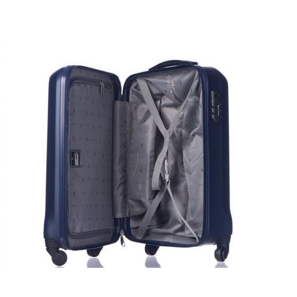 Moderní cestovní kufry PARIS - tmavě modré