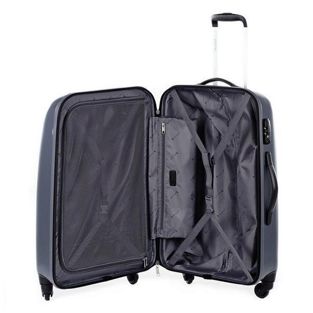 Moderní cestovní kufry VOYAGER - nebeská modrá