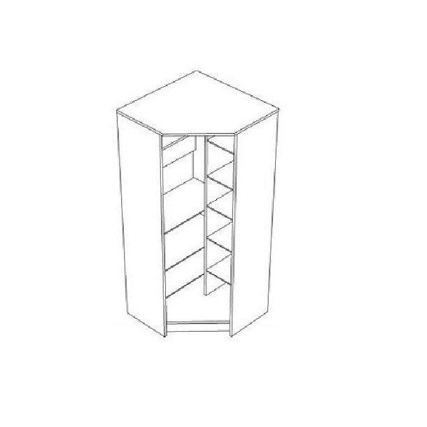 Šatní skříň MAGIC - TYP C