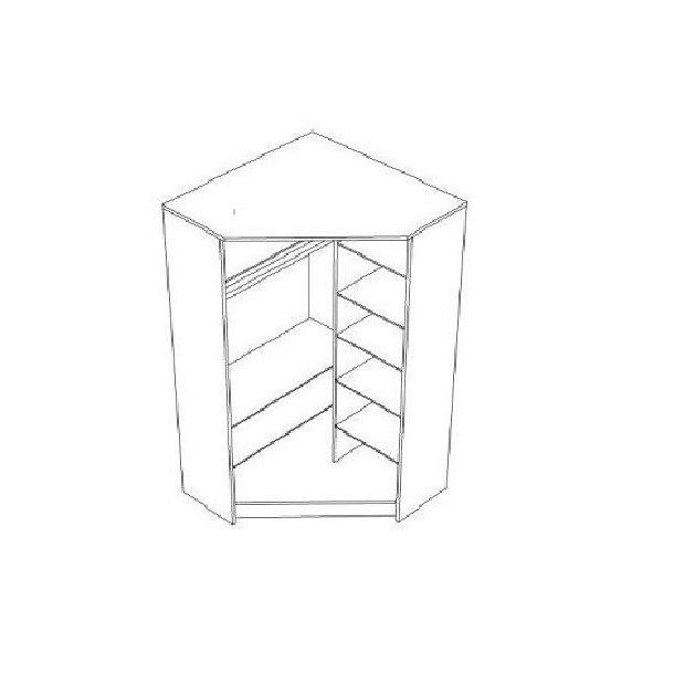 Šatní skříň MAGIC - TYP D
