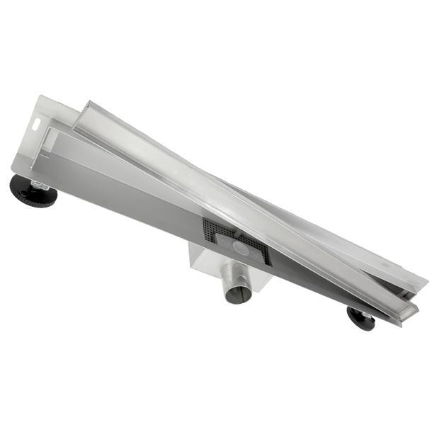 Sprchový žlab do stěny NEO WALL 2v1 25-90 cm