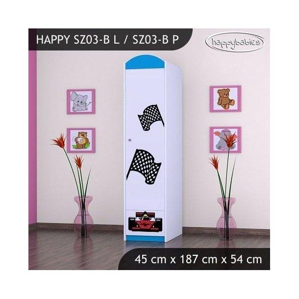 Dětská skříň FERRARI - TYP 3B