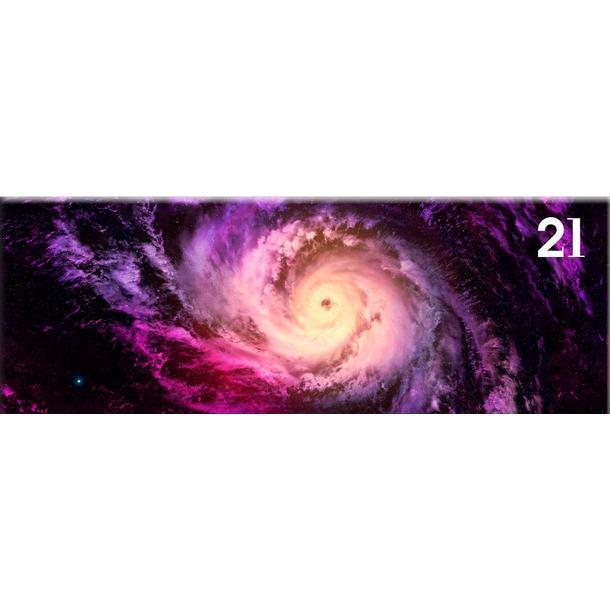 Obraz na plátně PANORAMA GALAXY -  vzor 21