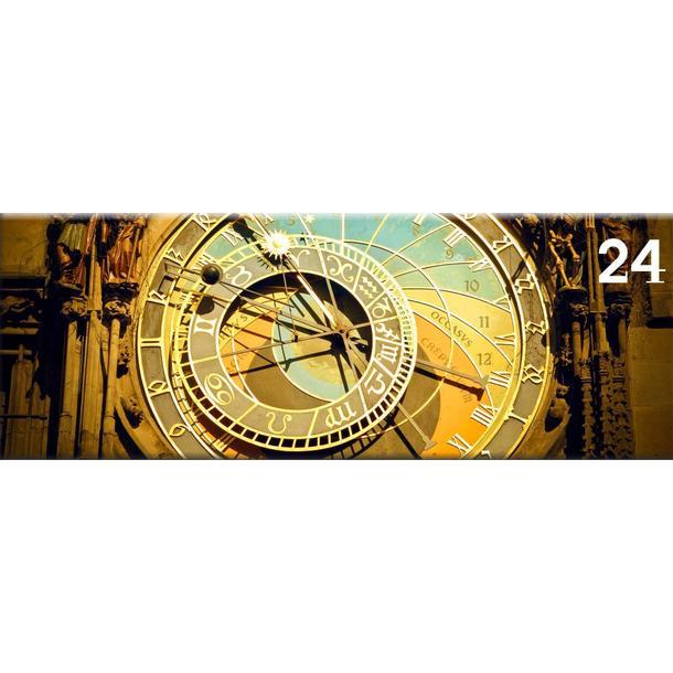 Obraz na plátně PANORAMA ORLOJ -  vzor 24