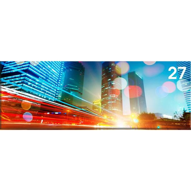 Obraz na plátně PANORAMA CITY -  vzor 27